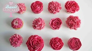 Download Buttercreme Rosen Hortensien Cupcakes Muttertag Special |Danis Cupcakes Video
