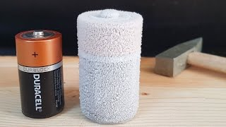 Download Science Experiment LIQUID NITROGEN vs BATTERY Video
