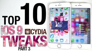 Download Top 10 iOS 9 Cydia Tweaks Part 3 - 9.0.2 Pangu Jailbreak Compatible Video