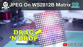 DOT MATRIX DISPLAY using P10 and ESP8266 Free Download Video MP4 3GP