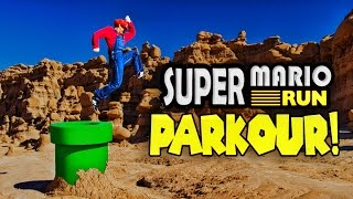 Download Super Mario Run Meets Parkour in Real Life! in 4K! Video