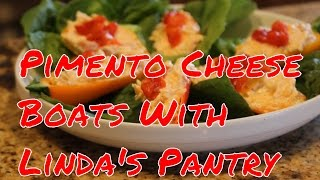 Download ~Pimento Cheese Appetizer Boats With Linda's Pantry~ Video
