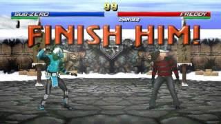 Download Mortal Kombat Project 4.1: Season 2.5 (2017) All Fatalities Demonstration Video
