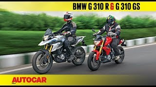 Download BMW G 310 R and G 310 GS | First Ride Review | Autocar India Video
