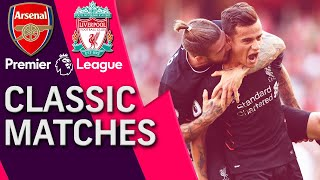 Download Arsenal v. Liverpool | PREMIER LEAGUE CLASSIC MATCH | 8/14/16 | NBC Sports Video