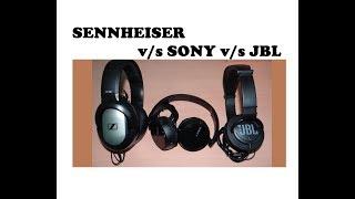 Download Top 3 premium Headphones under Rs 1000/-... Sennheiser/Sony/JBL Video