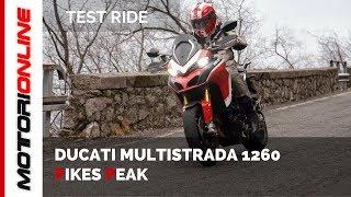 Download Ducati Multistrada 1260 Pikes Peak   Test ride [ANTEPRIMA MONDIALE] Video