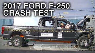 Download 2017 Ford F-250 Crew Cab Frontal Crash Test Video
