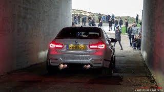 Download Supercars Arriving - Akrapovic M4, Capristo R8, Skyline R33, 1000HP 9FF, G-Power M5,... Video
