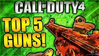 Download TOP 5 BEST GUNS IN MODERN WARFARE REMASTERED! COD 4 REMASTERED BEST WEAPONS! COD 4 BEST GUNS! Video