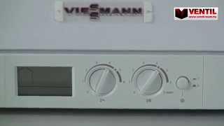 Download Viessmann Vitodens 100-W 26KW Kondenzációs kombi gázkazán Video