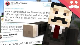 Download I BUILD your SILLY REDSTONE IDEAS! #15 Video