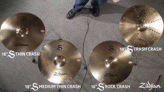 Download Zildjian S Family Cymbals - Crashes Video