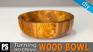 Download Turning an Olive Wood Bowl Video