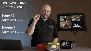 Download Quad HD Live Switching & Recording with the Sumo 19 & Shogun 7 Video