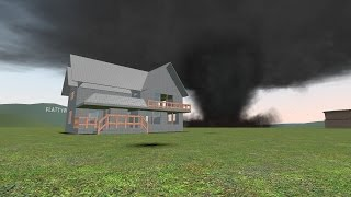 Download Gmod Tornado Survival | House Smashed! (gDisasters) Video