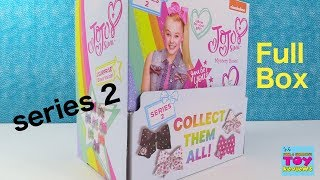 Download Jojo Siwa Mystery Bows Series 2 Full Box Opening Blind Bag Review | PSToyReviews Video