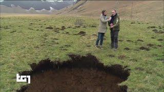 Download Terremoto Centro Italia, lungo la faglia si scoprono nuove voragini Video