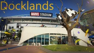 Download DOCKLANDS NEWQUAY PROMENADE TOUR MELBOURNE AUSTRALIA Video