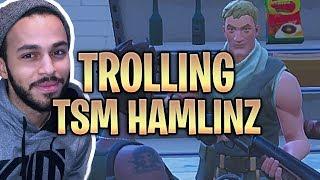 Download TROLLING TSM HAMLINZ ″LIL SUS″ WITH VOICE CHANGER! Fortnite Battle Royale Video