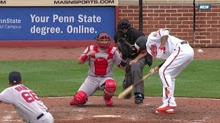 Download BOS@BAL: Barnes ejected after throwing at Machado Video