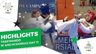 Download Highlights Day 11 I Taekwondo Mens and Womens Team Kyorugi #Napoli2019 Video