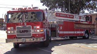 Download LAFD Truck 9 (NEW Pierce TDA) Video