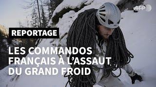 Download L'élite de l'alpinisme militaire français à l'assaut du grand froid   AFP Video