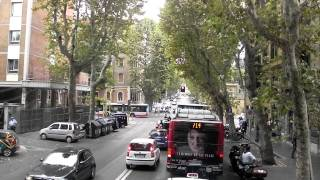 Download Traffic in Rome, Italy Video