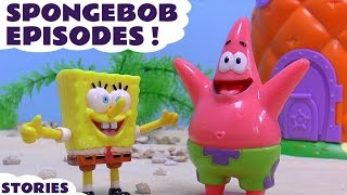 Download Spongebob Squarepants toys Episodes Play Doh Thomas and Friends Nickelodeon Kinder Surprise Eggs Video