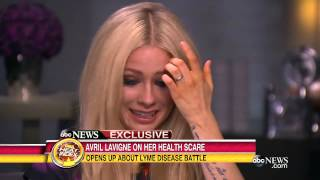Download Avril Lavigne Opens Up About Her Struggle With Lyme Disease | Good Morning America | ABC News Video