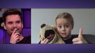 Download 5-jarig meisje verklaart de liefde aan dj Domien - RTL LATE NIGHT Video