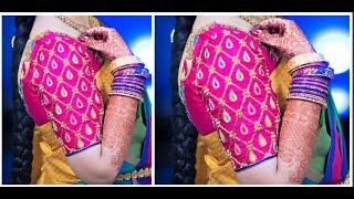 Download Hand Made Designer Sleeves Same Like Aari Work | Very Simple & Easy To Make Video