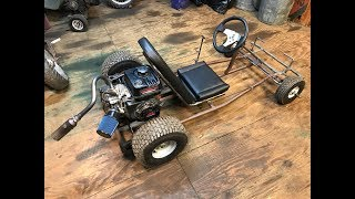 Download improving the two speed go kart with go power sports products Video