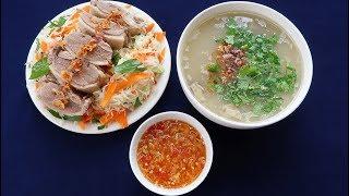 Download Món Ăn Ngon - CHÁO VỊT nước mắm gừng, gỏi bắp cải thịt vịt Video