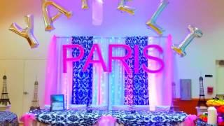 Download DECORACION DE 15 AÑOS CON TEMA DE PARIS COLOR ROSA! Video