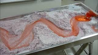 Download Meandering River - dyed red - Emriver Em2 Video