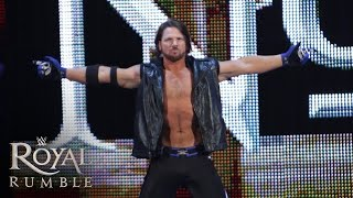Download WWE Network: AJ Styles makes his WWE debut in the Royal Rumble Match: Royal Rumble 2016 Video