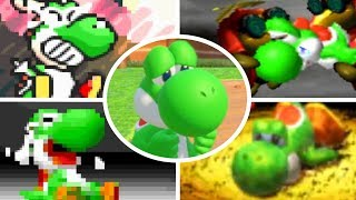 Download Evolution of Yoshi Deaths and Game Over Screens (1990-2017) Video