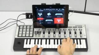 Download iRig MIDI in action with SampleTank and GarageBand Video