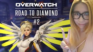 Download Overwatch Road to Diamond with Airtom - S3 Overwatch Competitive Gameplay #2 Video