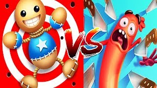 Download Kick The Buddy Vs Run Sausage Run Epic Finishing Best Moments Compilation - Run And Troll Video