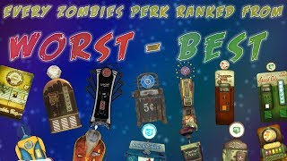 Download EVERY ZOMBIES PERK RANKED FROM WORST TO BEST- Which perk is the best? (Call of Duty: Zombies) Video