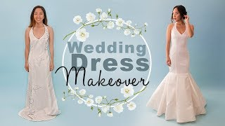 Download DIY Wedding Dress Makeover | Thrifted Transformations Video