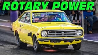 Download GIANT Turbo Rotary Powered Datsun @ TX2K15! Video