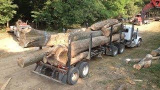 Download Log truck, Loud pipes Video