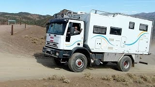 Download Margrit and Franz 4x4 Iveco Tector Truck Motorhome Video