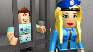 Download I FELL IN LOVE WITH A POLICE OFFICER IN JAILBREAK - Roblox Adventures Video