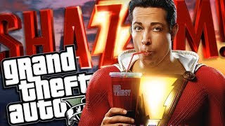 Download THE NEW SHAZAM MOVIE MOD w/ SUPER POWERS (GTA 5 PC Mods Gameplay) Video