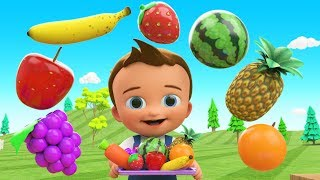 Download Learn Colors & Fruits Names for Children with Little Baby Fun Play Cutting Fruits Toy Train 3D Kids Video